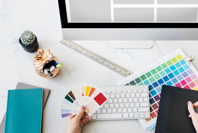 Choosing Brand Colors and Designing the Website